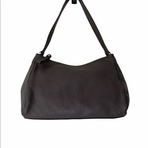Kate Spade Brown Pebble Leather Shoulder Bag